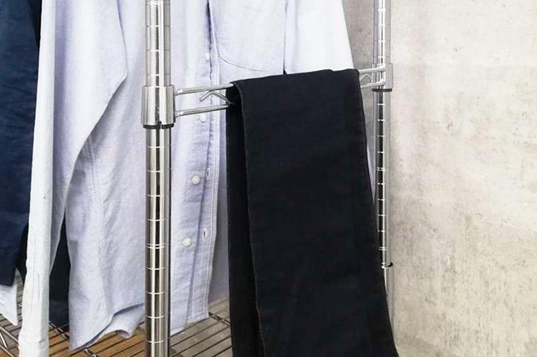 衣類収納で使える「ちょい置き」収納