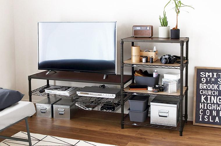 ルミナスノワールのテレビ台&収納棚を作ろう!