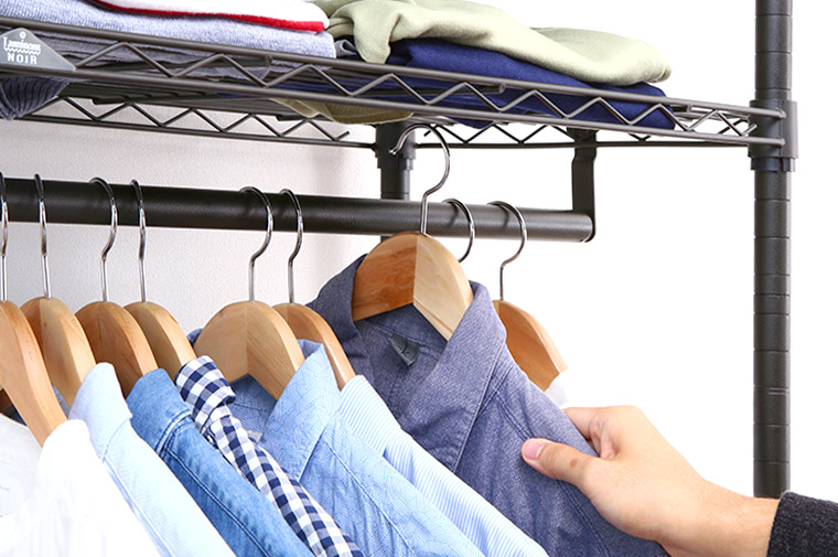 ルミナスノワールの衣類収納ワードローブを作ろう!