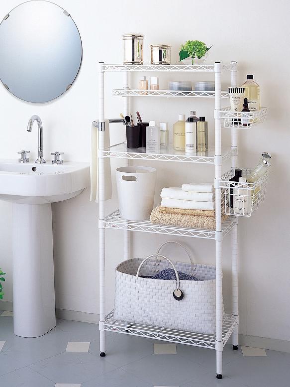 ホームエレクターレディメイドシリーズの清潔感あるクリーンな印象の「ホワイト」