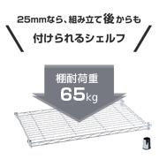 ルミナス25mmの追加用棚板(シェルフ)
